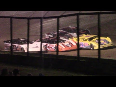 RUSH Crate Late Model Heat Two   Eriez Speedway   9-22-17