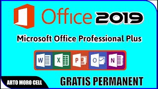 Gambar cover Cara Instal Microsoft Office Pro Plus 2019 Gratis Permanent
