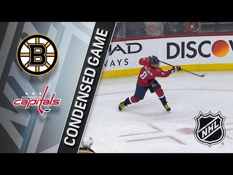 Boston Bruins vs Washington Capitals – Dec. 28, 2017 | Game Highlights | NHL 2017/18. Обзор матча