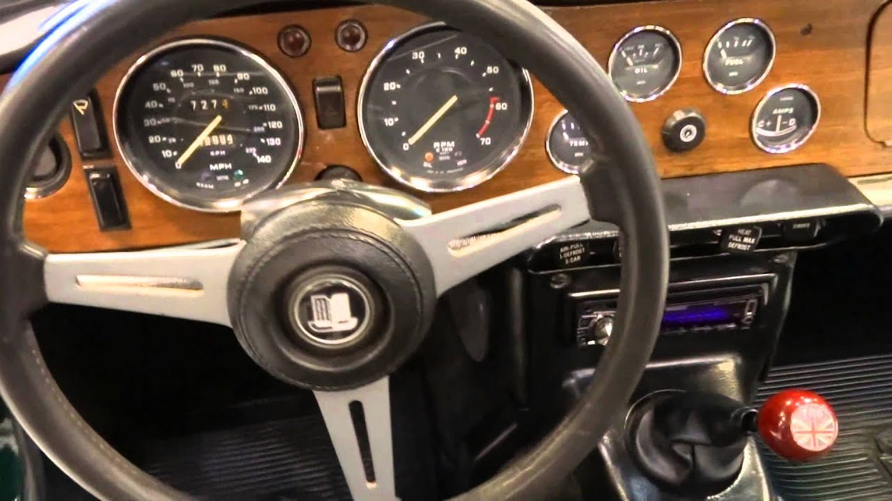 1971 Triumph TR6 ORD #0079  YouTube