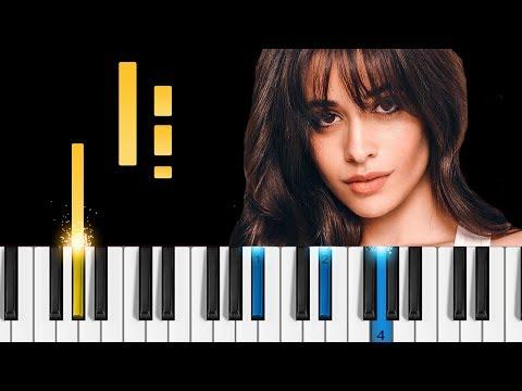 Camila Cabello - Consequences - EASY Piano Tutorial