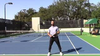 How to Stay Low and Move Forwards on Your Return of Serve Part 2 (Your Return Episode 33)