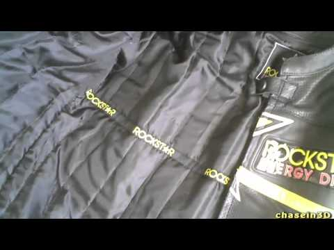 Rockstar Leather Motorcycle Jacket Review