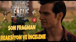 Justice league // son fragman reaksiyon ve İnceleme | efsane bİr fİlm gelİyor efsane !!!