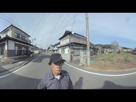 Walk through a town abandoned after the Fukushima nuclear disaster – 360 video
