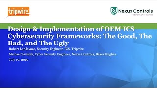 Design and Implementation of OEM ICS Cybersecurity Frameworks