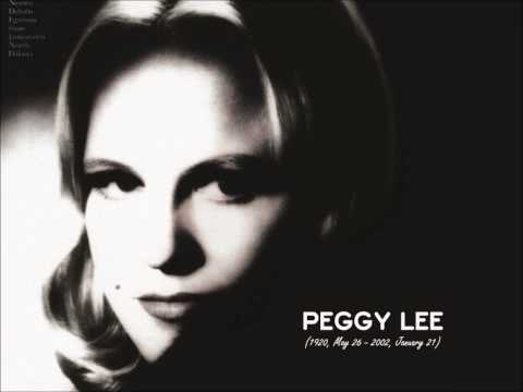 Peggy Lee - So in Love
