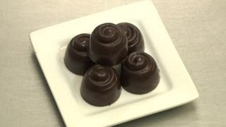 Recipe For Caramel Dark Chocolate Truffle : Chocolate Dreams