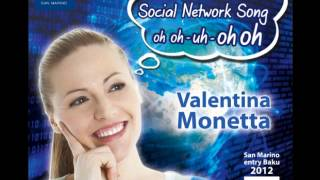 Valentina Monetta The Social Network Song oh oh uh oh oh Remix by Claudio Bruneletti