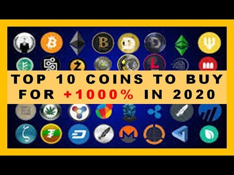 TOP 10 Coins To BUY In 2020!