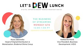Let's DEW Lunch Webinar with Endemol Shine and VIZIO June 15, 2020