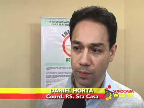 Видео Sistema de gerenciamento nas unidades do hospital Santa casa de misericórdia
