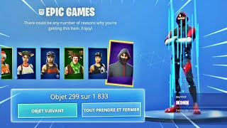 'BUG' HAVE ALL THE SKINS FOR FREE 0 on FORTNITE SAISON 10 -PS4/ONE/PC/SWITCH/MOBILE