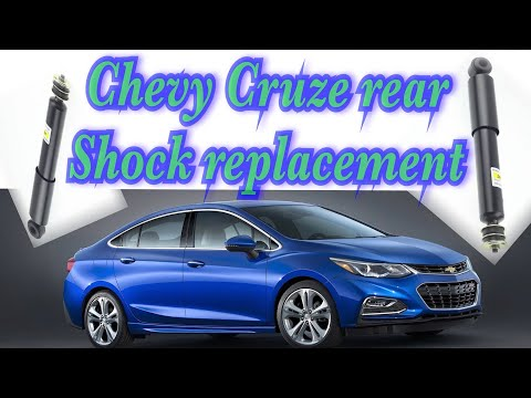 Chevy Cruze Rear Shock Replacement. Chevy Cruze #chevy Cruze Fix