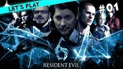 [1] Let's Play Resident Evil 6-Koop-Modus mit Simon und Gregor | 01.04.2016