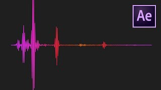 Audio Waveform Visualization Effect After Effects