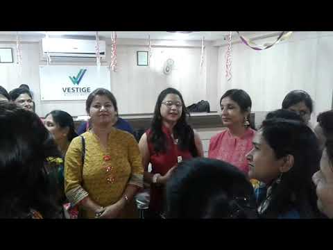 Birthday celebrations Vestige Bhopal office