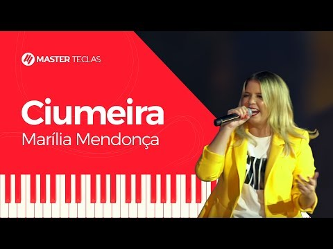 💎 Marília Mendonça - Ciumeira - Piano tutorial - Master Teclas💎