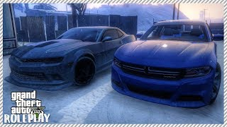 GTA 5 ROLEPLAY - MY NEW CAR? TEST DRIVING CAMERO Z28 & CHARGER | Ep. 167 Civ