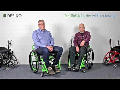 Die Rollstühle von DESINO - Versorgung und Erstattung