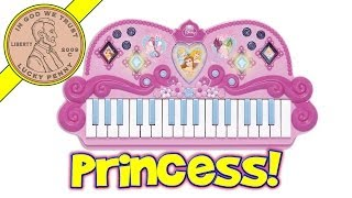 Disney Princess Enchanted Melody Electronic Keyboard - Plays Be Our Guest & Bibbidi Bobbidi Boo