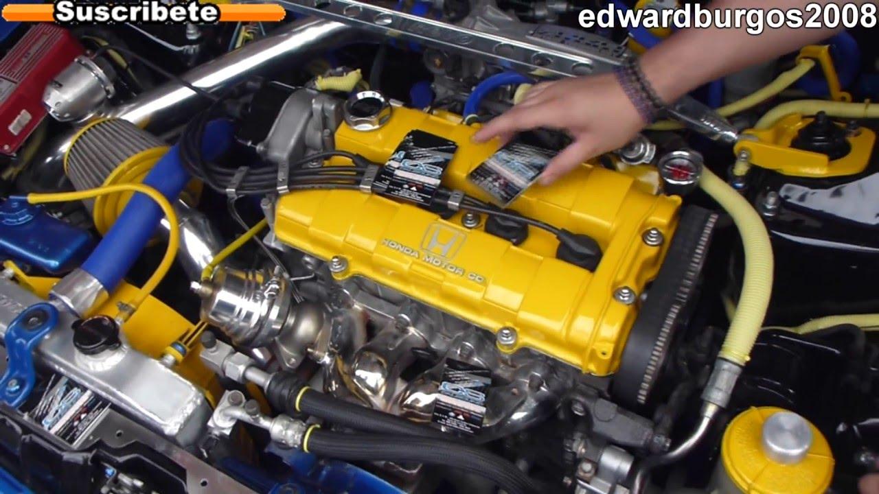 Honda Hatchback Tuning Modificado Car Audio Interior De Cuero Fibra