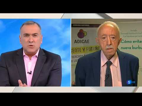 Manuel Pardos en los desayunos de TVE 7 de noviembre