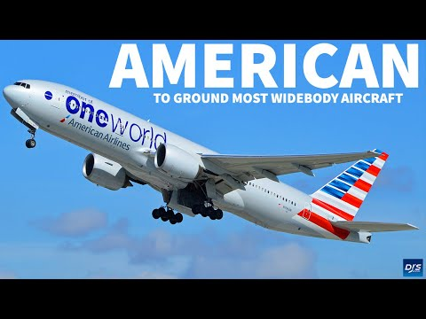 American Airlines Grounds Widebody Aircraft