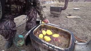 Охота на уток 2020 в Якутии Начало ледохода!