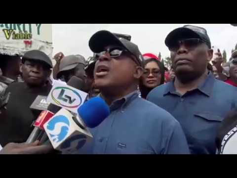 PDP Leaders Storm N'Assembly, Protest Molestation Of Fayose