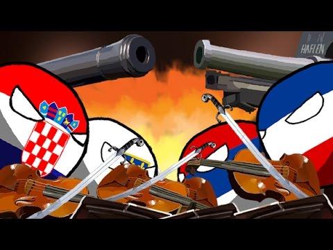 Polandball animation - A war orchestra