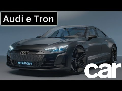Audi E Tron Gt Concept Lowdown Car Magazine Youtube