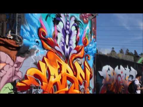 Springbeat Festival 2017 - Graffiti - Snösätra Stockholm