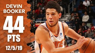 Devin Booker goes off for 44 points in Suns vs. Pelicans | 2019-20 NBA Highlights