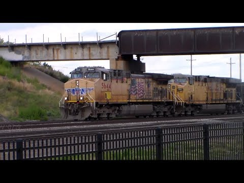 No Train Horn Zone: Union Pacific in Grand Island, Nebraska