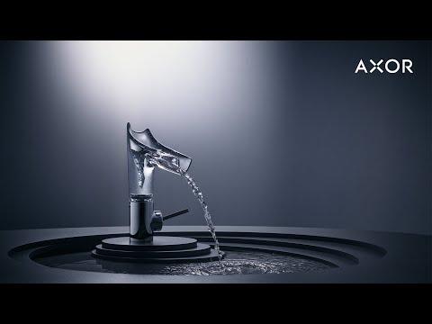 AXOR Starck V | Стеклянные смесители для ванной