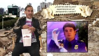 Pablo Saldarriaga en Preguntas Con Cancha y con Aldo Miyashiro adivinan las canciones con Siri!