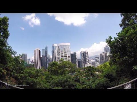 【Hong Kong Walk Tour】Wanchai MTR 灣仔 → Bowen Road 寶雲道 → The Peak 山頂 → Peel Rise 貝璐道 → Aberdeen 香港仔