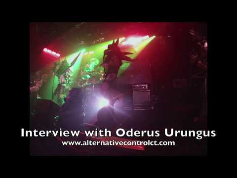 Oderus Urungus Interview with Alternative Control 12/28/2013 Toad's Place New Haven, CT