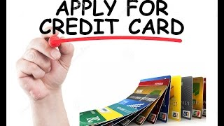 How to apply credit cards online in India