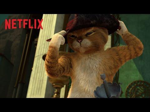 Den Bestøvlede Kat På Eventyr    Netflix  Dansk HD