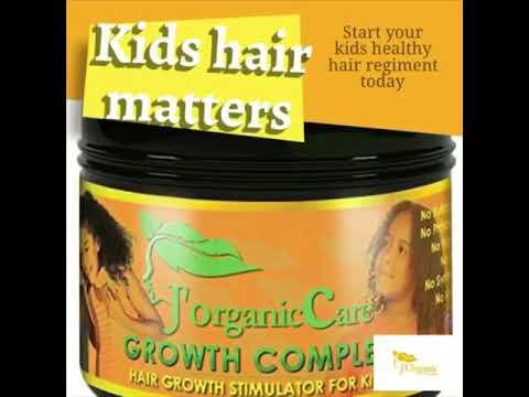 J'Organic Solutions kids hair care
