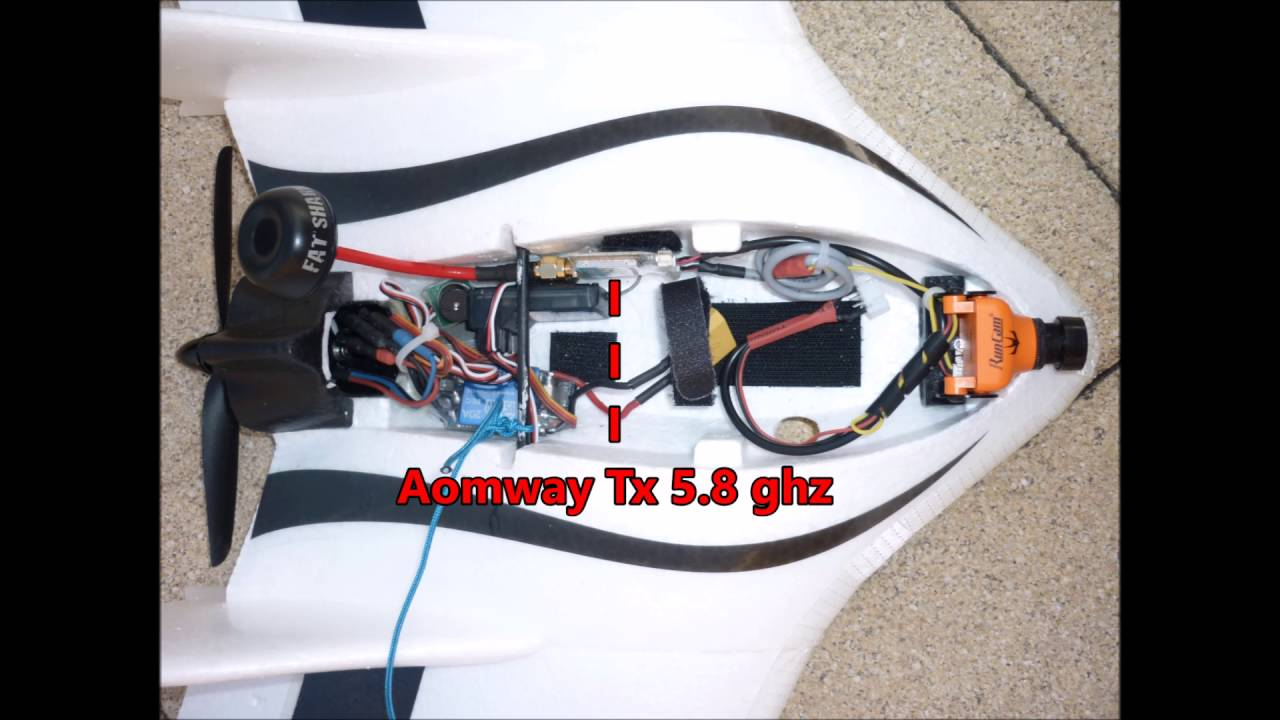 Fpv Setup Wing Wing Z 84 How To Tuto Fpv Wing Wing Fpv Installation Wing Wing Youtube