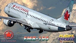 AIR CANADA Embraer 190 (Bahamas & Cuba)