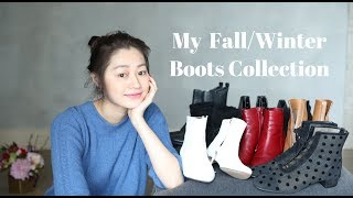 本期视频跟大家分享一下秋冬靴子的拔草种草一些我经常穿的靴子,还有一...