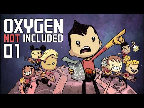 Oxygen Not Included ALPHA 1/2   Angezockt! [Gameplay German Deutsch]