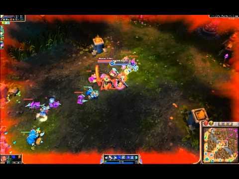 Lucian Glitch Q or Bug Gameplay (League of Legends) - LOL TheGAM3Report1 , EthanD / EthanDJ