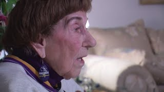 For 100th Birthday, Vikings Surprise Fan With Playoffs Tickets