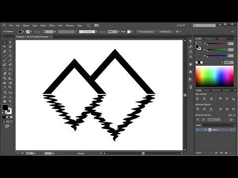 Beginners Illustrator Tips- Working with Wrinkle Tool - YouTube
