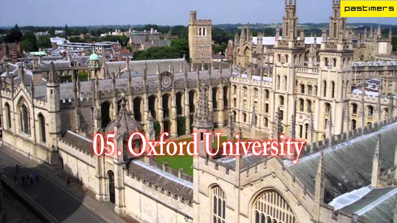 Top 15 Universities in The World - YouTube